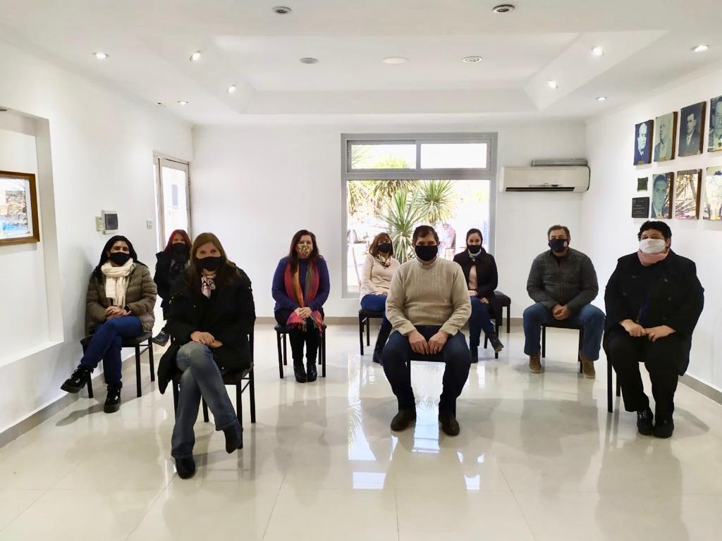 Reunión con referentes del Área Educativa