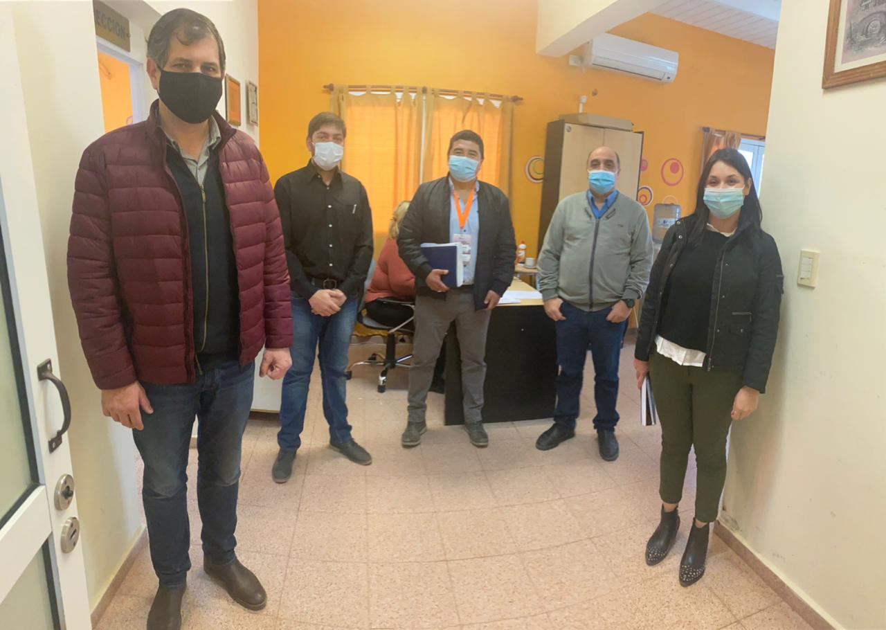 Visita del Dr. Ricardo Álvarez