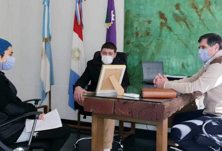 Lee más sobre el artículo El intendente Méndez recibió a una representante de la colectividad Sorora.