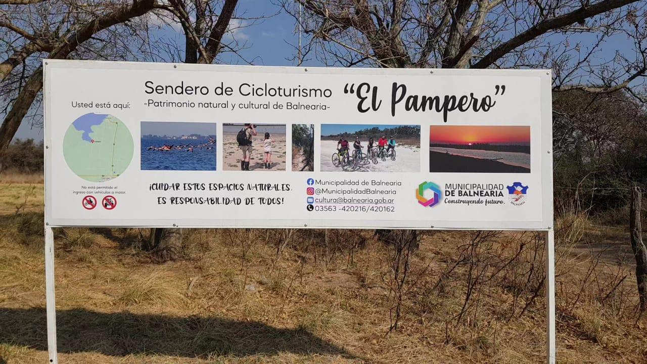 En este momento estás viendo El sendero «El Pampero» como uno de los mejores de la provincia